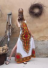 Šaty - AFRIKA - DLOUHÉ MAKENZI ŠATY - 10938385_