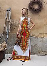 Šaty - AFRIKA - DLOUHÉ MAKENZI ŠATY - 10938386_