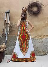 Šaty - AFRIKA - DLOUHÉ MAKENZI ŠATY - 10938387_