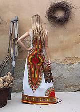 Šaty - AFRIKA - DLOUHÉ MAKENZI ŠATY - 10938388_