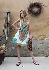 Šaty - AFRIKA - MAKENZI ŠATEČKY KRÁTKÉ - 10938419_