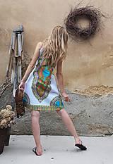 Šaty - AFRIKA - MAKENZI ŠATEČKY KRÁTKÉ - 10938420_