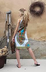 Šaty - AFRIKA - MAKENZI ŠATEČKY KRÁTKÉ - 10938421_