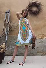 Šaty - AFRIKA - MAKENZI ŠATEČKY KRÁTKÉ - 10938423_