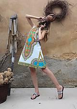 Šaty - AFRIKA - MAKENZI ŠATEČKY KRÁTKÉ - 10938424_