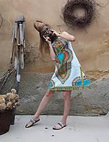 Šaty - AFRIKA - MAKENZI ŠATEČKY KRÁTKÉ - 10938425_