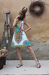 Šaty - AFRIKA - MAKENZI ŠATEČKY KRÁTKÉ - 10938426_