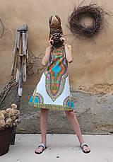 Šaty - AFRIKA - MAKENZI ŠATEČKY KRÁTKÉ - 10938427_