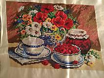 Obrazy - vysivaný obraz - 10938451_
