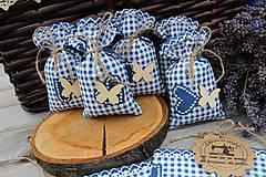 Úžitkový textil - Vrecká na levandulu.. - 10935838_