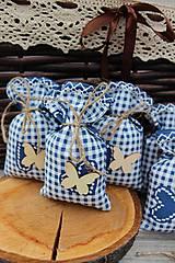 Úžitkový textil - Vrecká na levandulu.. - 10935844_
