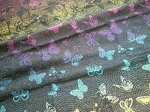 Textil - Yaro Woodland Duo Black Lights Rainbow - 10935764_