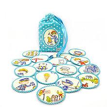 Hračky - PEXESO - POVOLANIA MUŽSKÉ / Nájdi dvojicu(8 párov/16 kartičiek) - 10936859_