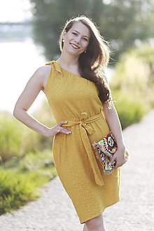 Šaty - Šaty SUNSHINE yellow - 10937879_