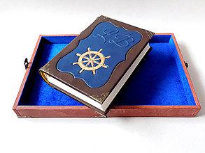 Papiernictvo - Lodný denník s kazetou - 10936107_