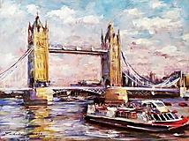 Obrazy - Tower Brigde - Londýn - 10936315_