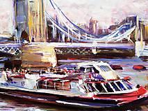 Obrazy - Tower Brigde - Londýn - 10936318_