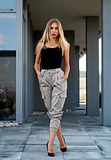 Nohavice - CARGO PANTS BEIGE - 10935914_