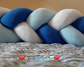 Textil - Pletený mantinel - 10937098_