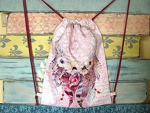 Batohy - Ruksak, batůžek, vak - Lapač snů na růžové II - 10937207_