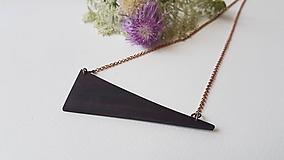 Náhrdelníky - EXOT náhrdelník Do šikma - 10935616_