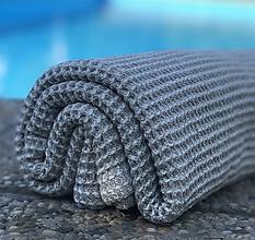 Úžitkový textil - Ľanový vaflový uterák - 10937297_