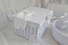 Košíky - Svadobný set - aj jednotlivo - 10936357_