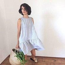 Šaty - VÁNOK .ľanové šaty - 10939593_