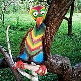 Dekorácie - Vták ochranca - 10940854_