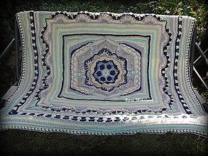 Úžitkový textil - Deka s merino vlnou - 10940921_