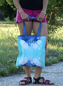 Nákupné tašky - Batikovaná taška 3 - 10941146_