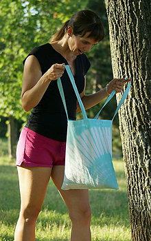 Nákupné tašky - Batikovaná taška II. - 10941159_