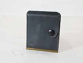 Peňaženky - Kožená dolarovka - vykrojená - 10939668_