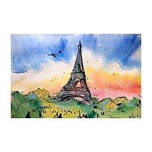 Obrazy - Eiffelovka - 10939083_