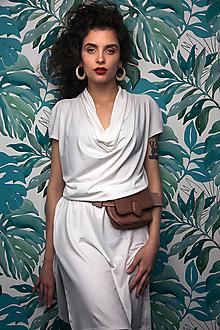 Šaty - Šaty White Orchis - 10939105_