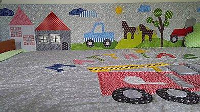 Úžitkový textil - Mantinel na stenu - 10938887_
