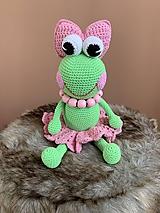Hračky - žabka Korálka - 10939321_