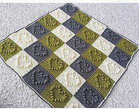 Úžitkový textil - Dečka so srdiečkami ❤ - 10940650_