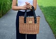 Kabelky - Prútená kabelka do ruky N°1 - 10940648_