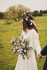 """- Boho svadobná kytica """"o kráse dní"""" - 10939750_"""