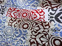 Úžitkový textil - Flanel deka farebná - 10939825_