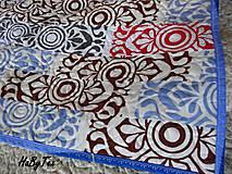 Úžitkový textil - Flanel deka farebná - 10939826_