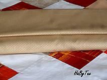 Úžitkový textil - Kvety a kocky - 10940285_