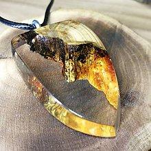 Náhrdelníky - lesný amulet - 10941232_