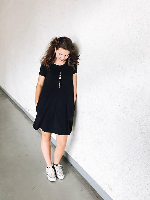Šaty ačkový strih M01-el-IO28