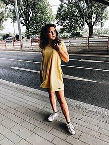 Šaty - Šaty balónový strih M08-el-IO20 M - 10939841_