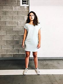 Šaty - Šaty rovný strih M15-el-IO28 L - 10941283_