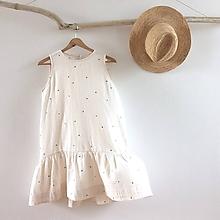 Šaty - HViEZDnY VÁNOK .šaty (Béžová) - 10942171_