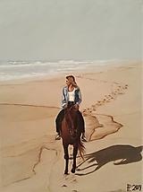 Obrazy - Obraz - Ranná prechádzka po pláži - 10941650_