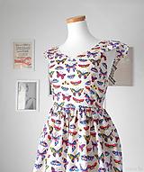 Šaty - dámske šaty Butterfly Queen - 10942108_